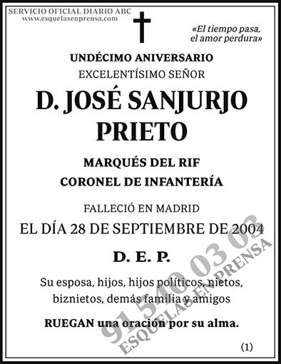José Sanjurjo Prieto